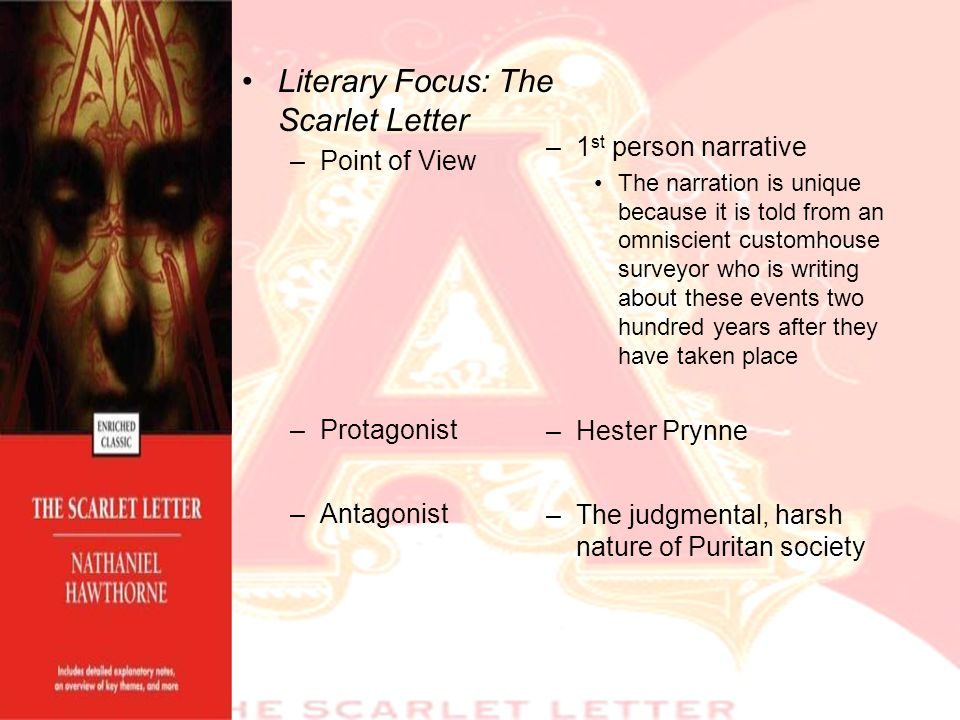 the scarlet letter protagonist