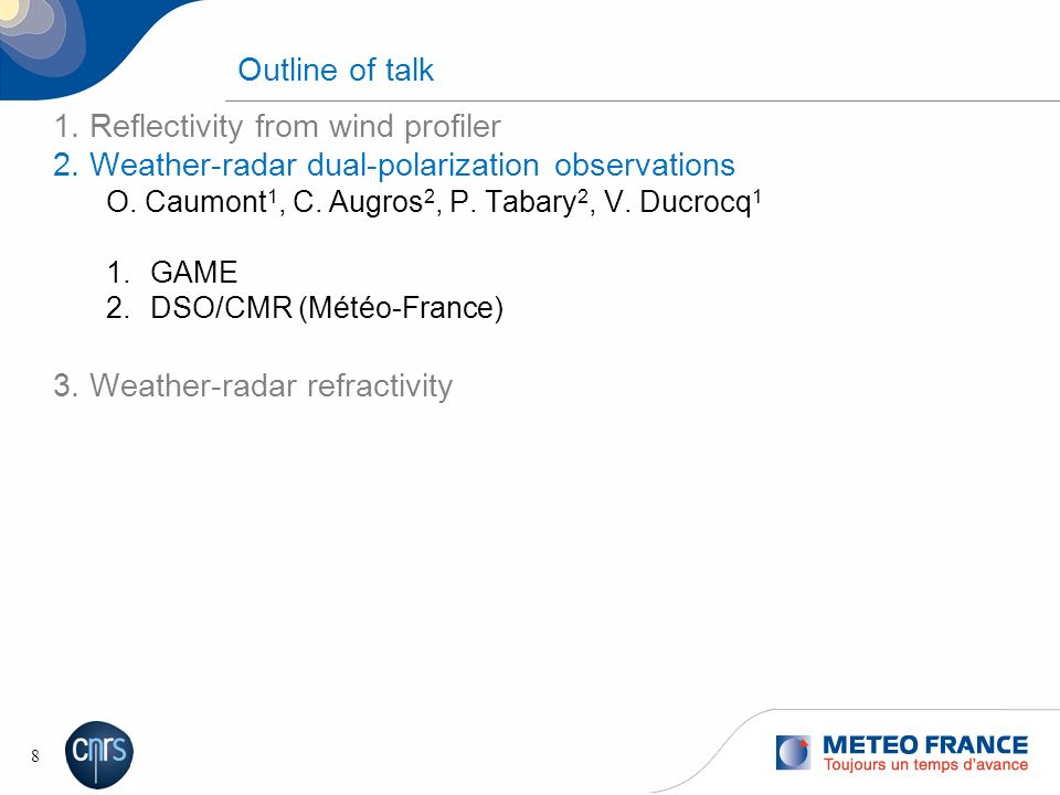 Observation operators for wind-profiler reflectivity