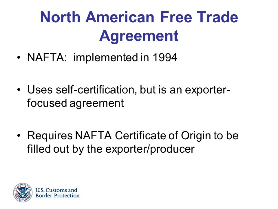an overview of the company profile of north american free trade agreement The north american free trade agreement guarantees that us shelled almond  fresh/chilled beef tariff profile  brought to you by nestlé purina petcare company.