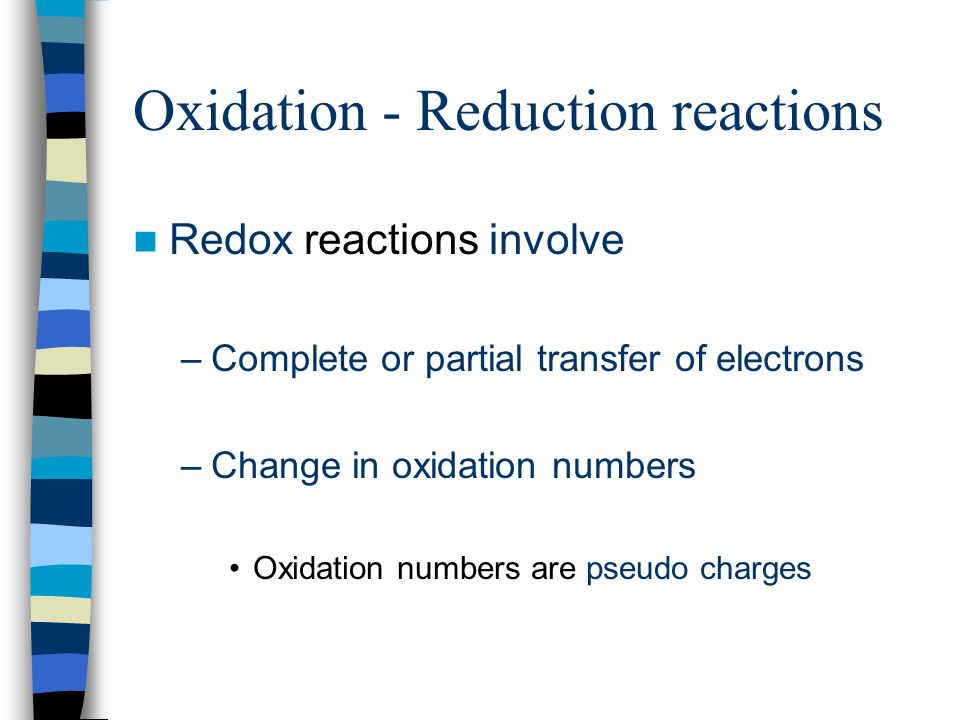 Oxidation Reduction Reactions Aka Redox Corresponding To Chapter. 2 Oxidation Reduction Reactions Redox Involve Plete Or Partial Transfer Of Electrons Change In Numbers Are. Worksheet. 20 2 Oxidation Numbers Worksheet Answers At Clickcart.co