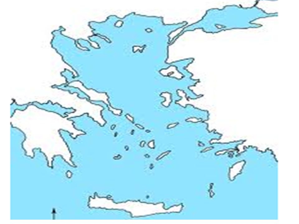 Greece Map Use The Internet And Your Textbook To Fill In The Blank