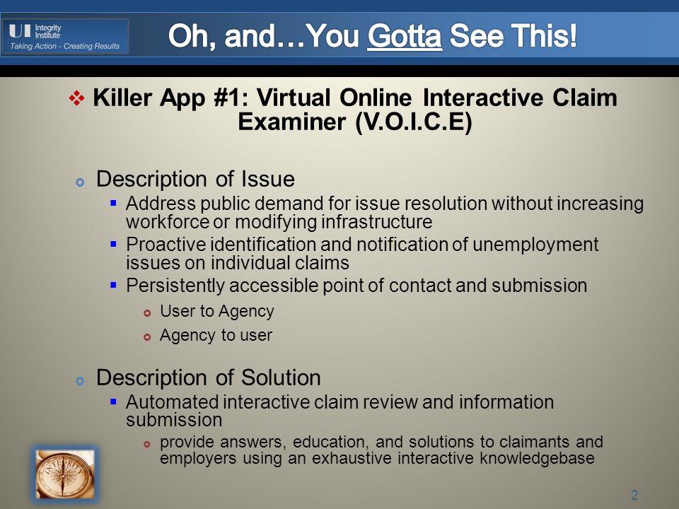 October 28 2011 Killer App 1 2