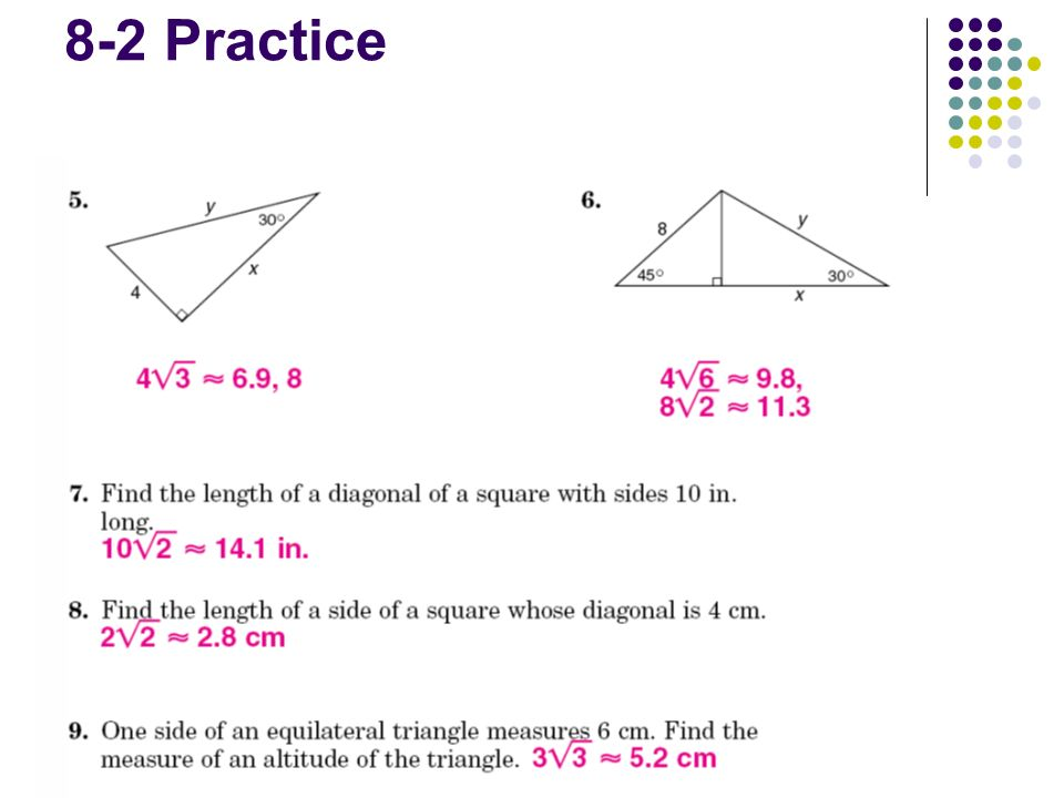Warmup Agenda Homework Review Section 83 Trigonometry 8. 6 83 Trigonometry Ratios In Right Triangles Trigonometric Ratio Of The Lengths Sides A Triangle Three Most Mon Sine Sin Cosine. Worksheet. Trig Ratios Worksheet Math 4 At Mspartners.co