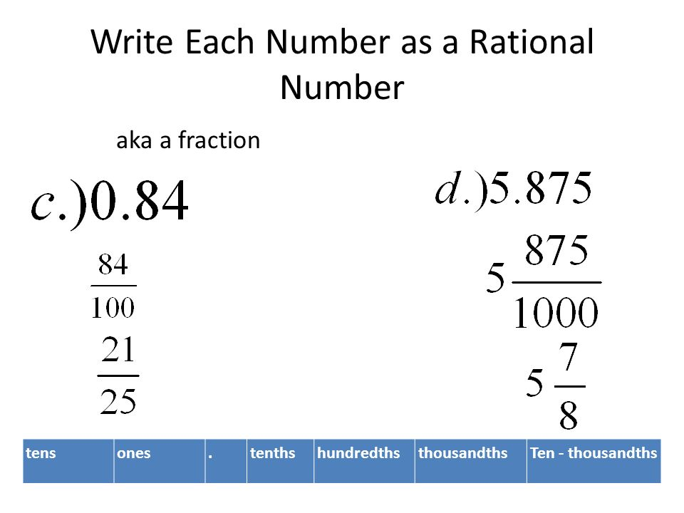 3 2 rational numbers rational number any number that can be written in the form of a fraction a and b have to be integers ppt download 3 2 rational numbers rational number