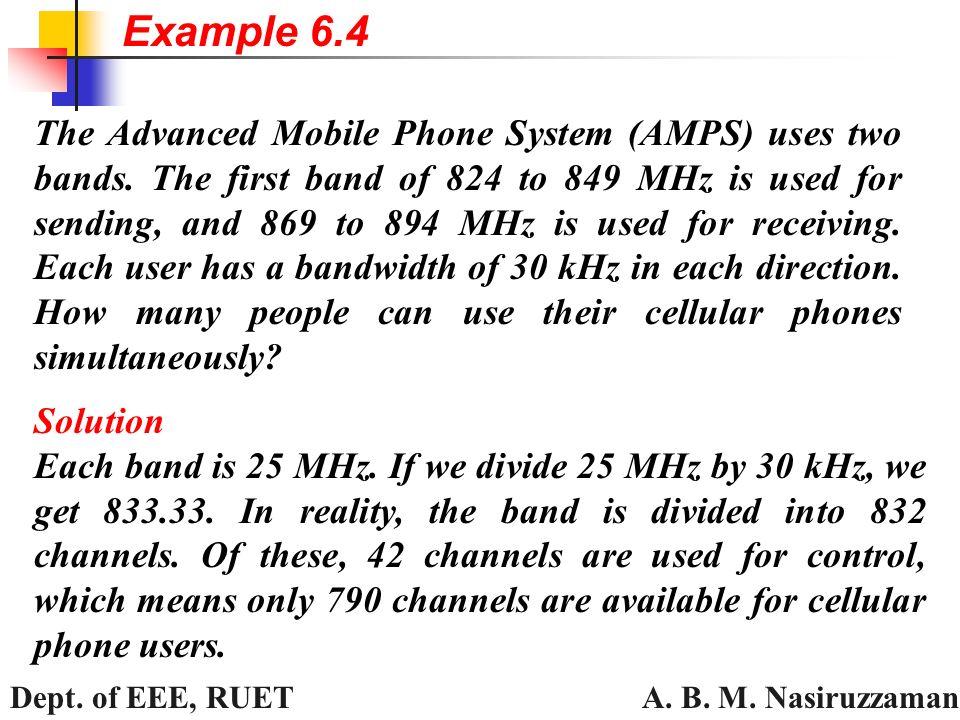 A  B  M  Nasiruzzaman Dept  of EEE, RUET Figure 6 6 Example