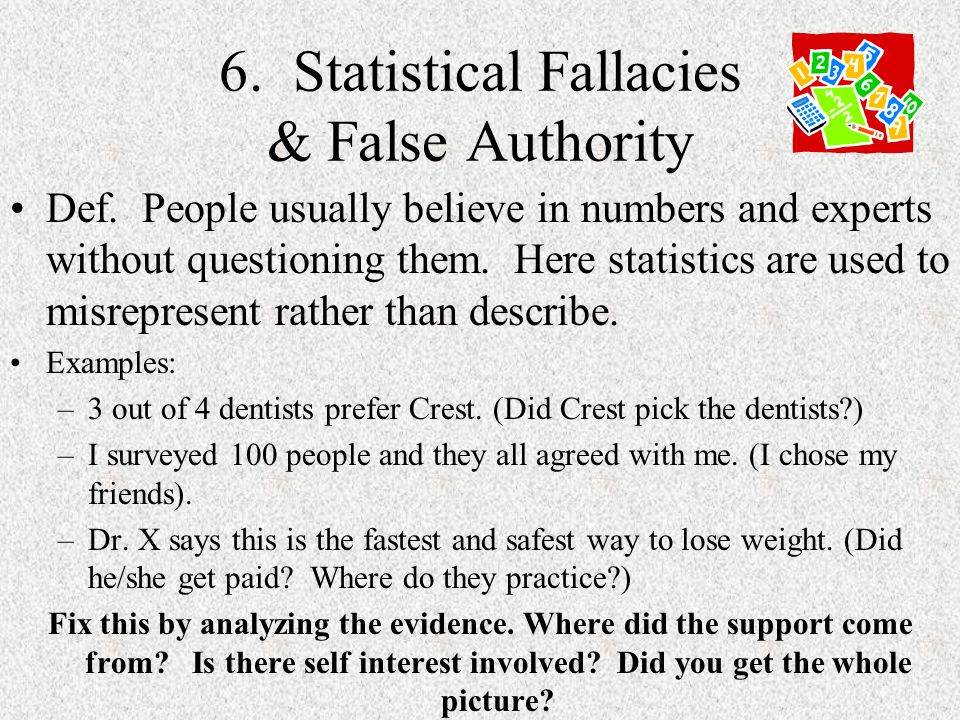 Recognizing Logical Fallacies A Logical Fallacy Is A Mistake In