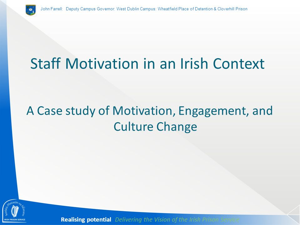 case study managing motivation in A business case study research is a complex training based on the conditions of real-life economic, social and business situations a supervisor offers a task to a team, which implies finding solutions for the optimization of the enterprise on the concrete terms of a real-life financial and industrial situation.