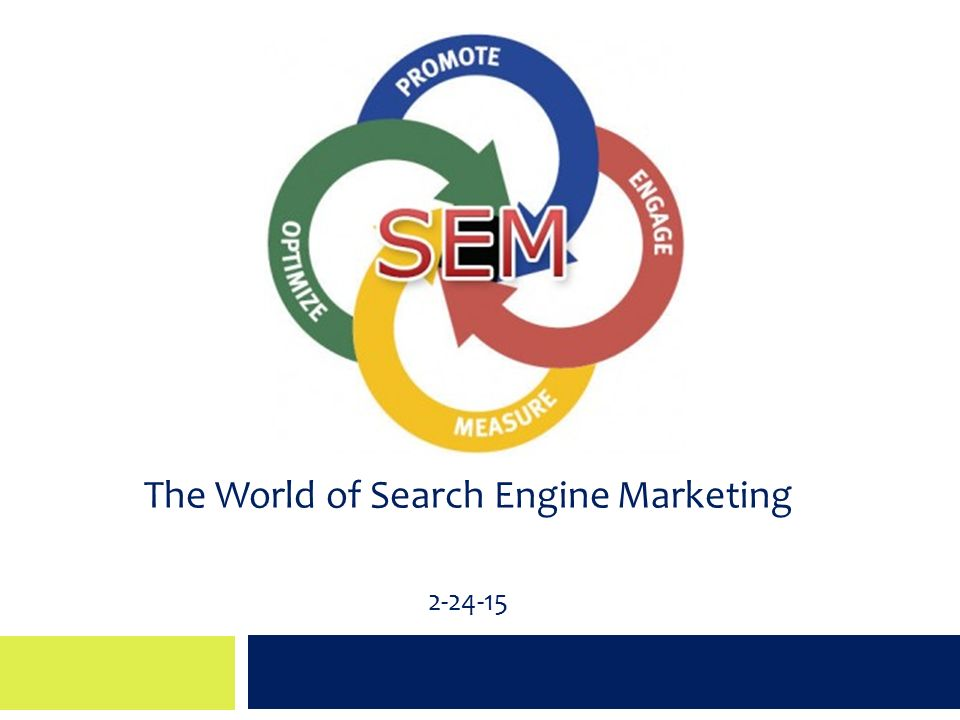 The World of Search Engine Marketing