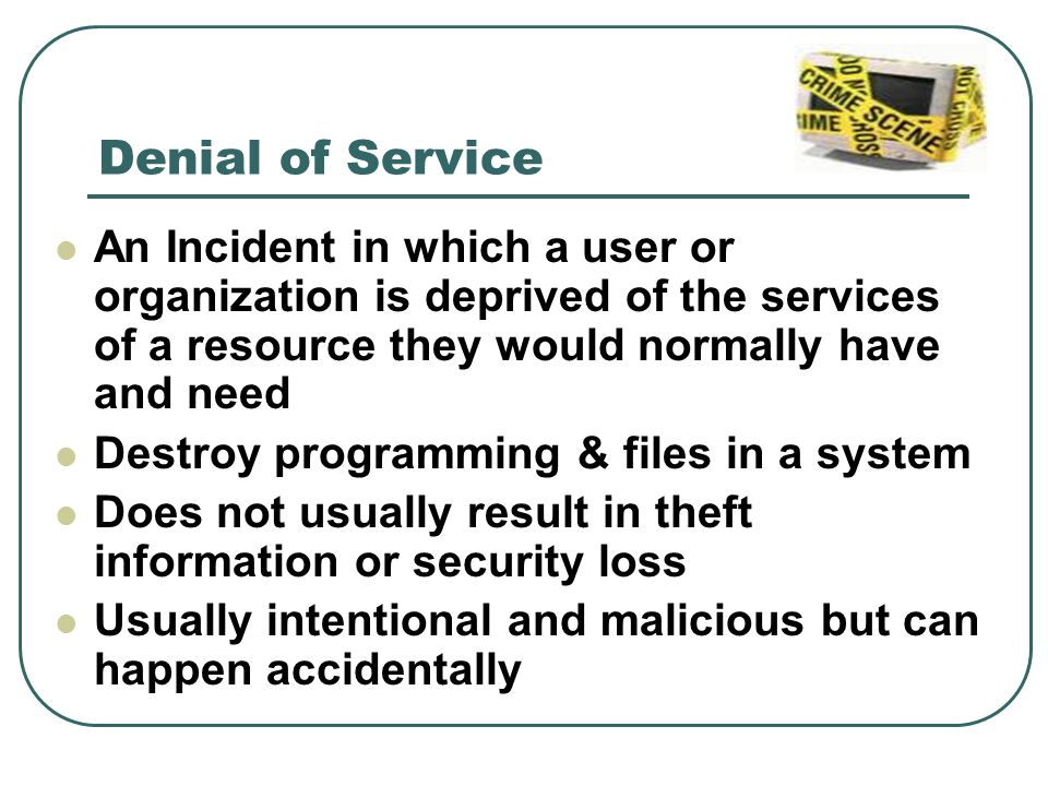 ipremier denial of service case Ipremier (a): denial of service attack 1 what is the key decision/issue presented in the case the key decision/issue presented in the case is that ipremier faced a daniel of service attack (dos) and it lasted for 75 minutes.