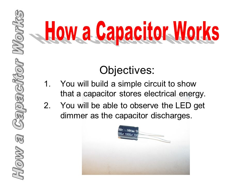 Capacitor Foundations Of Technology Capacitor 2013 International