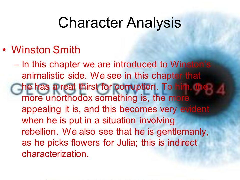 1984 Book 2 Ii Brendan Steinbock Period 4 Character Analysis