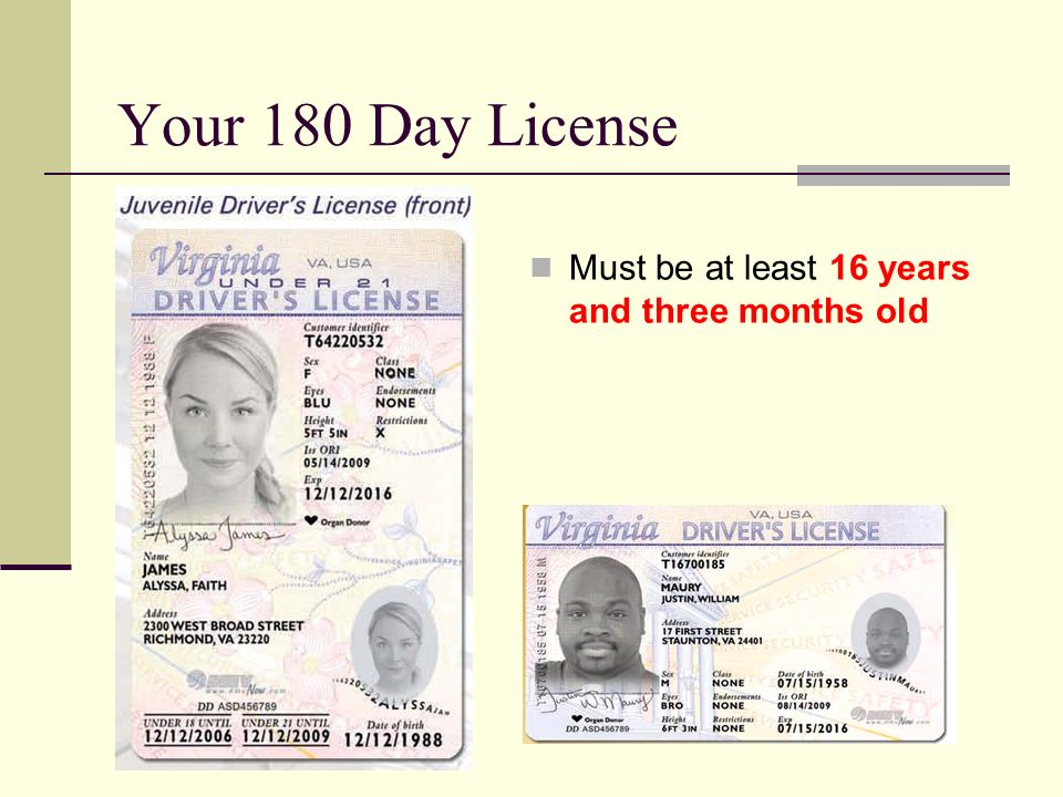 documents required for va drivers license