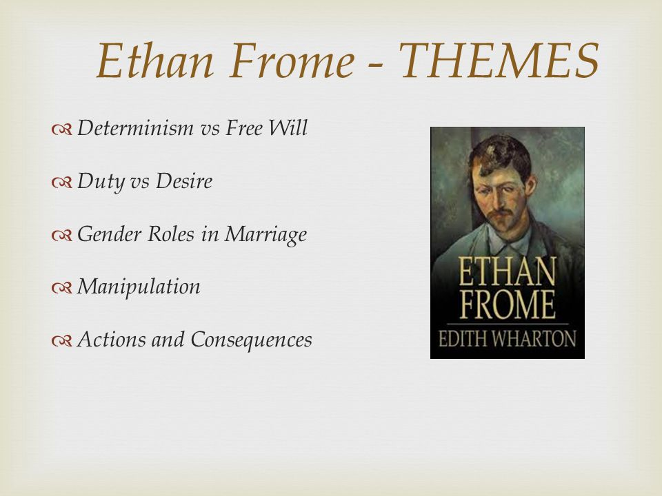 ethan frome themes