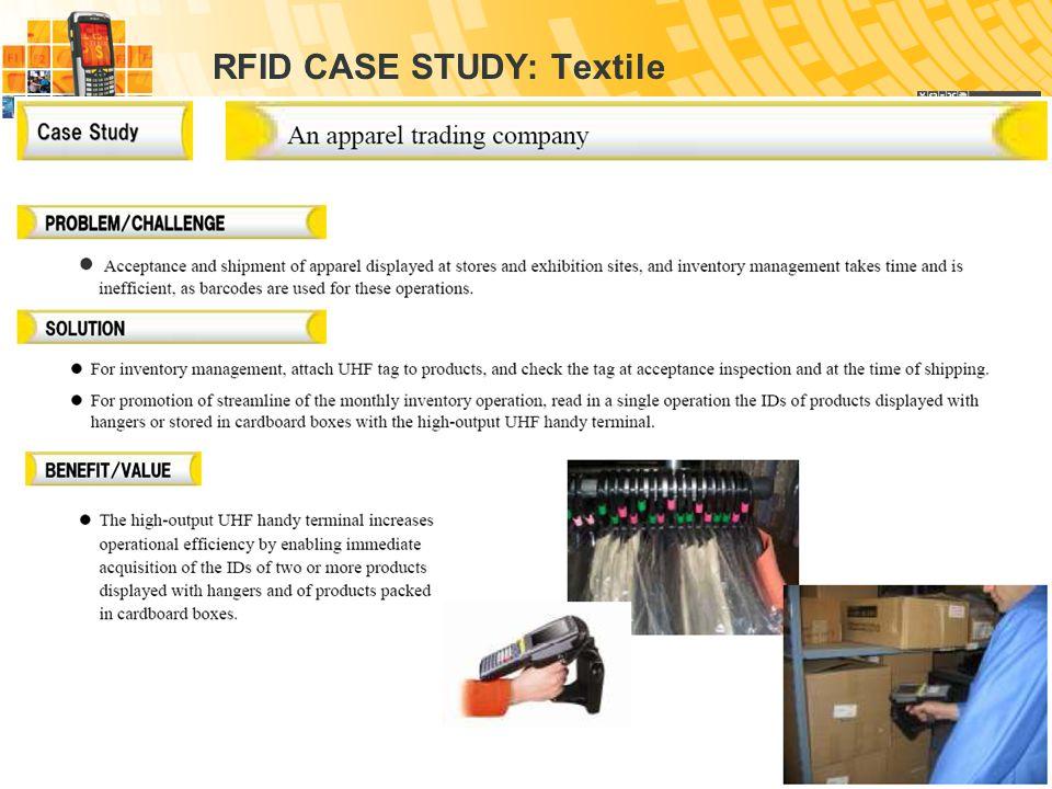 Warehouse management Bulk Storage Inventory  RFID CASE STUDY