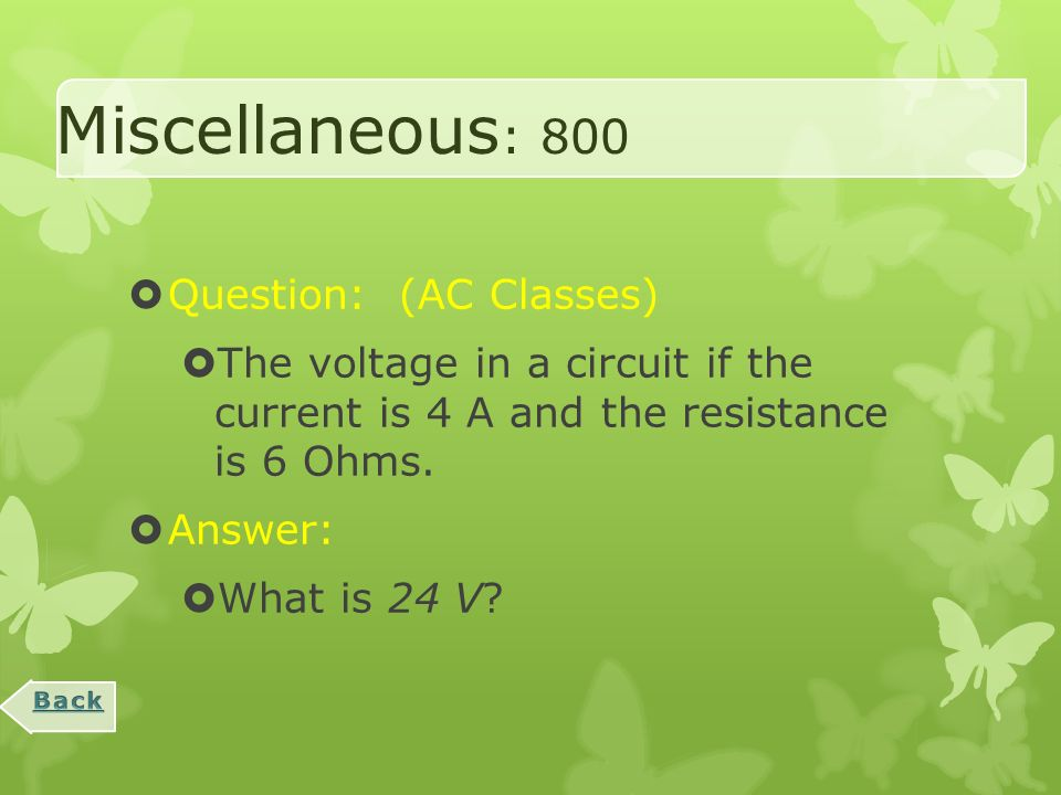 Miscellaneous : 600  Question:  All lights in a series circuit go out when one goes out because of this.