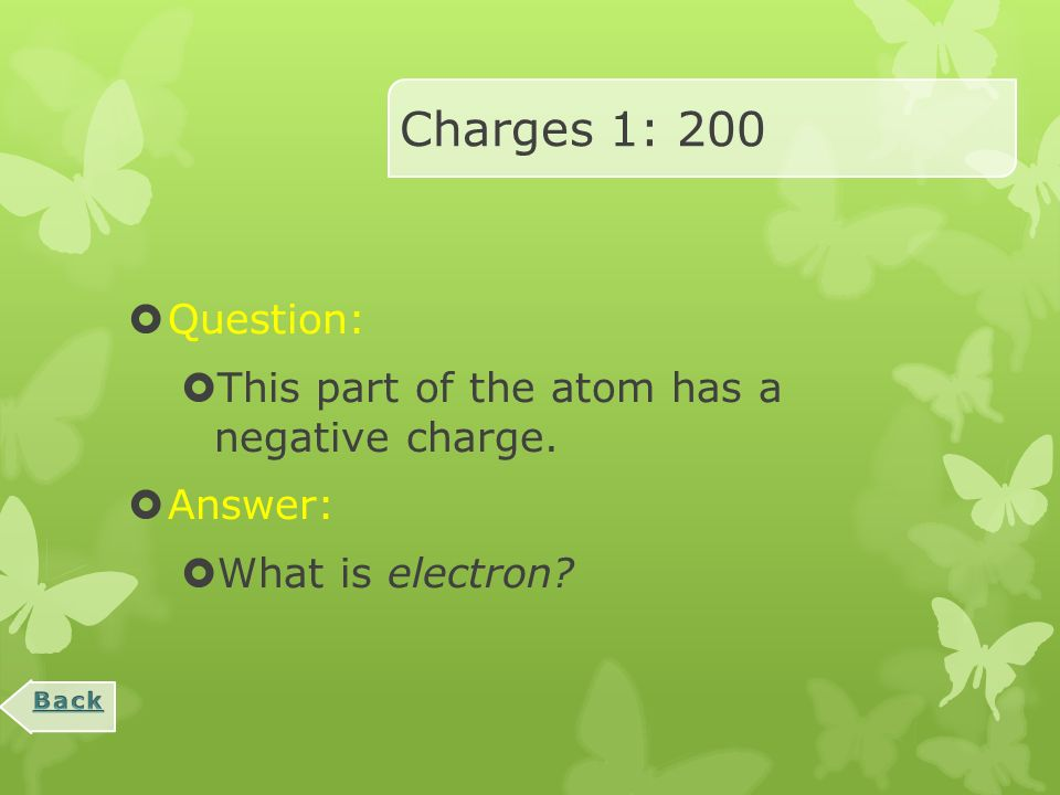 Magnetism and Electricity Review Charges 1Charges 2CircuitsMagnetsMisc.