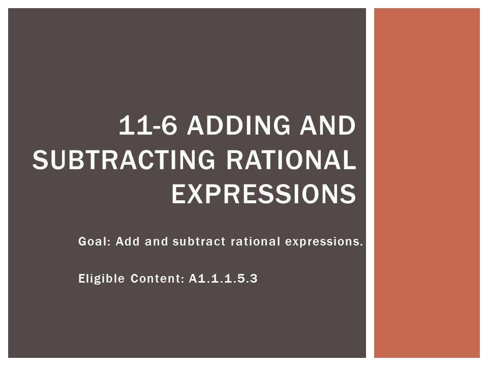 Goal Add And Subtract Rational Expressions Eligible Content A. Goal Add And Subtract Rational Expressions. Worksheet. 11 4 Practice Worksheet Adding And Subtracting Rational Expressions Answers At Clickcart.co