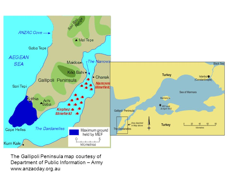 Gallipoli the landing on the 25 th april 1915 australian troops 3 the gallipoli peninsula map gumiabroncs