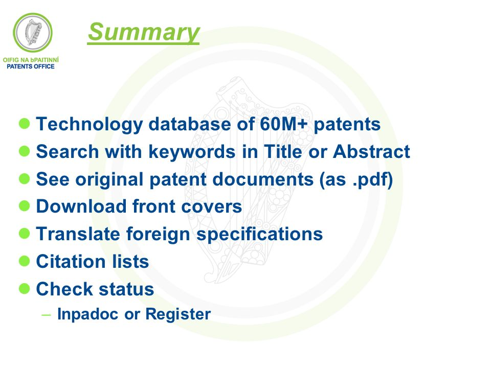Patent Search Pdf