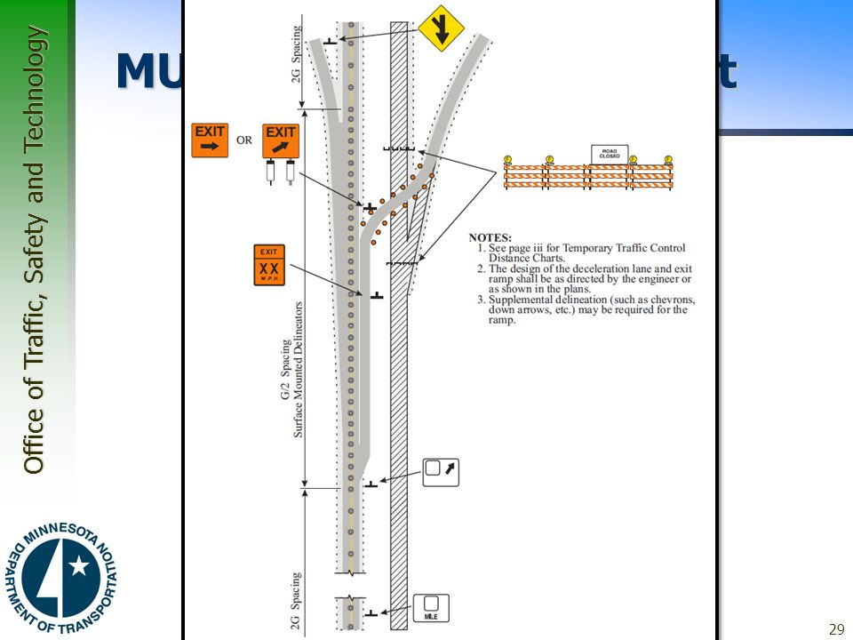 Office of Traffic, Safety and Technology Module 4 Work Zone