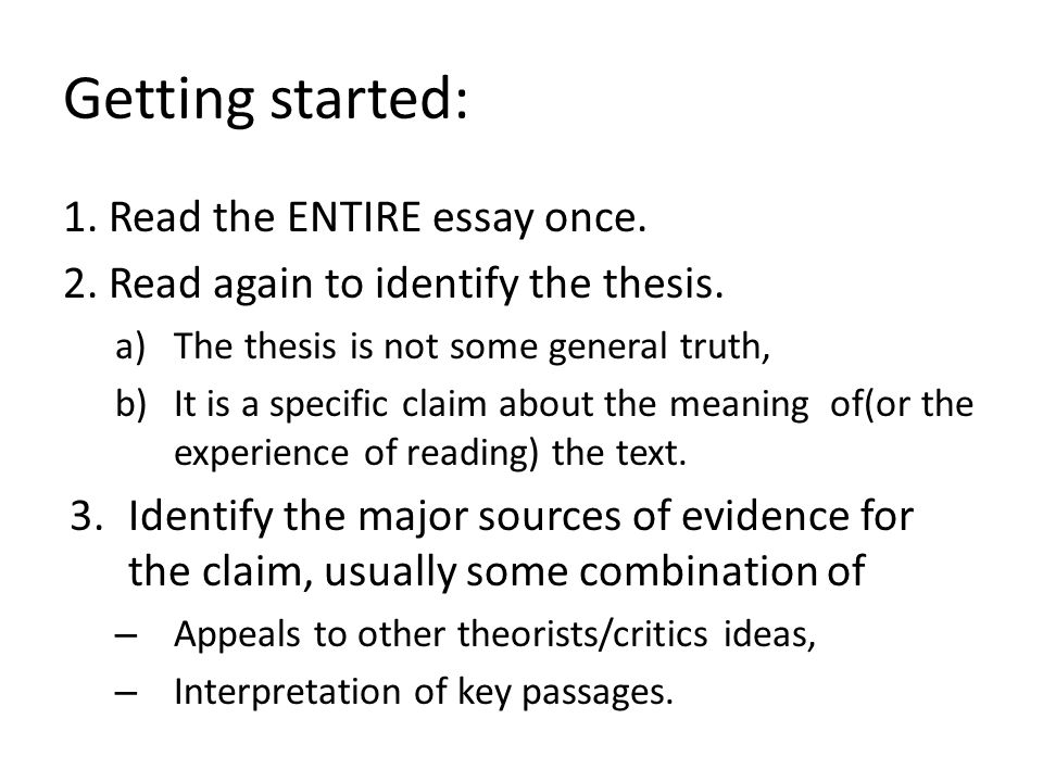 getting started on research paper Starting a research paper won't be so difficult if you have chosen the right topic - if you are interested in and inspired by you should get the teacher's approval before starting your work do the research: facts and examples create a research paper outline having the previous stage done, start drafting.