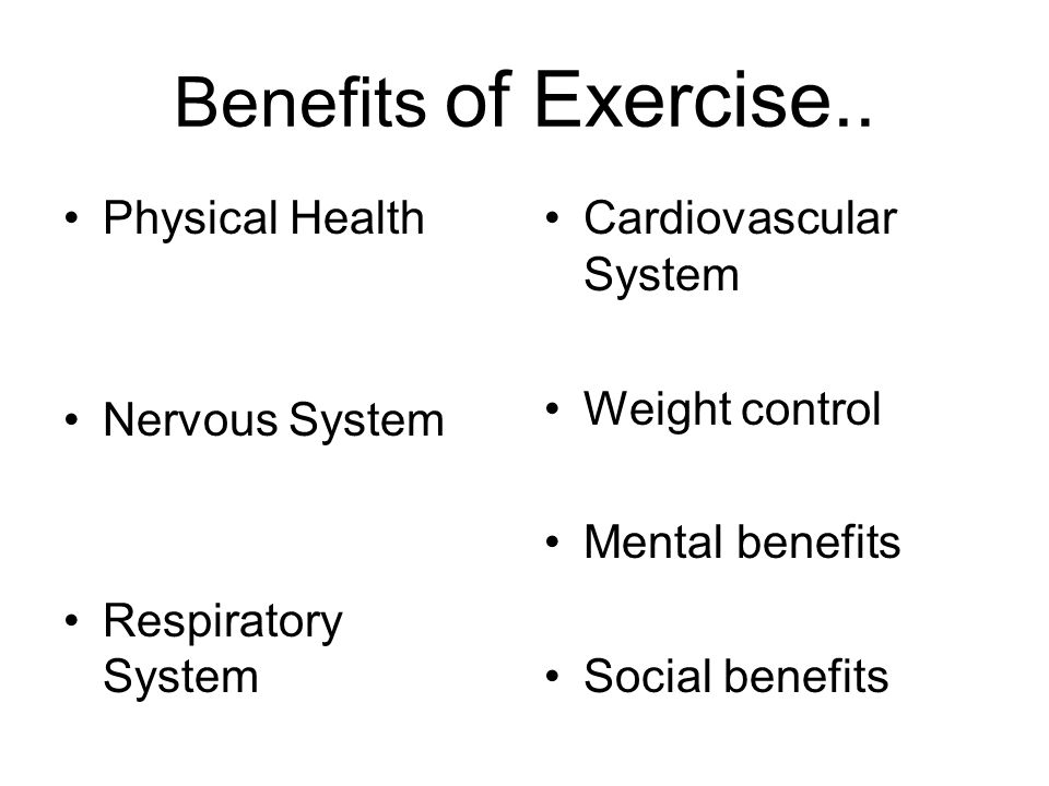 benefits of exercise on the respiratory system
