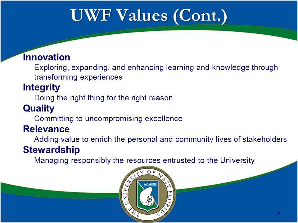 UWF New Trustee Orientation Dr  Judy Bense President ppt download