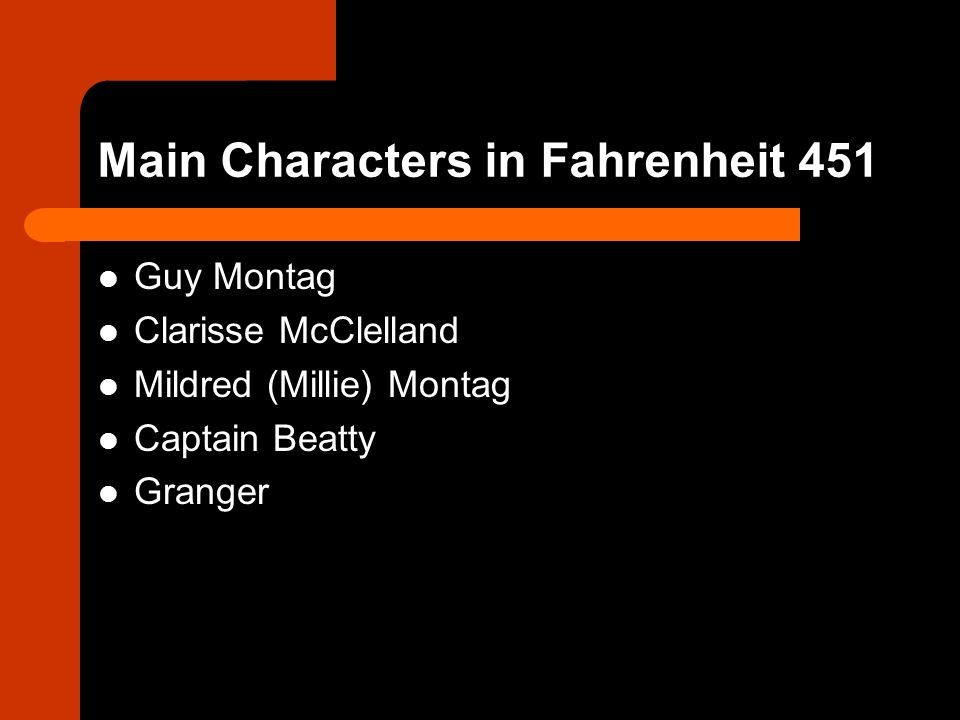 The Symbolism Of The Firemen Fahrenheit 451 Main Characters In