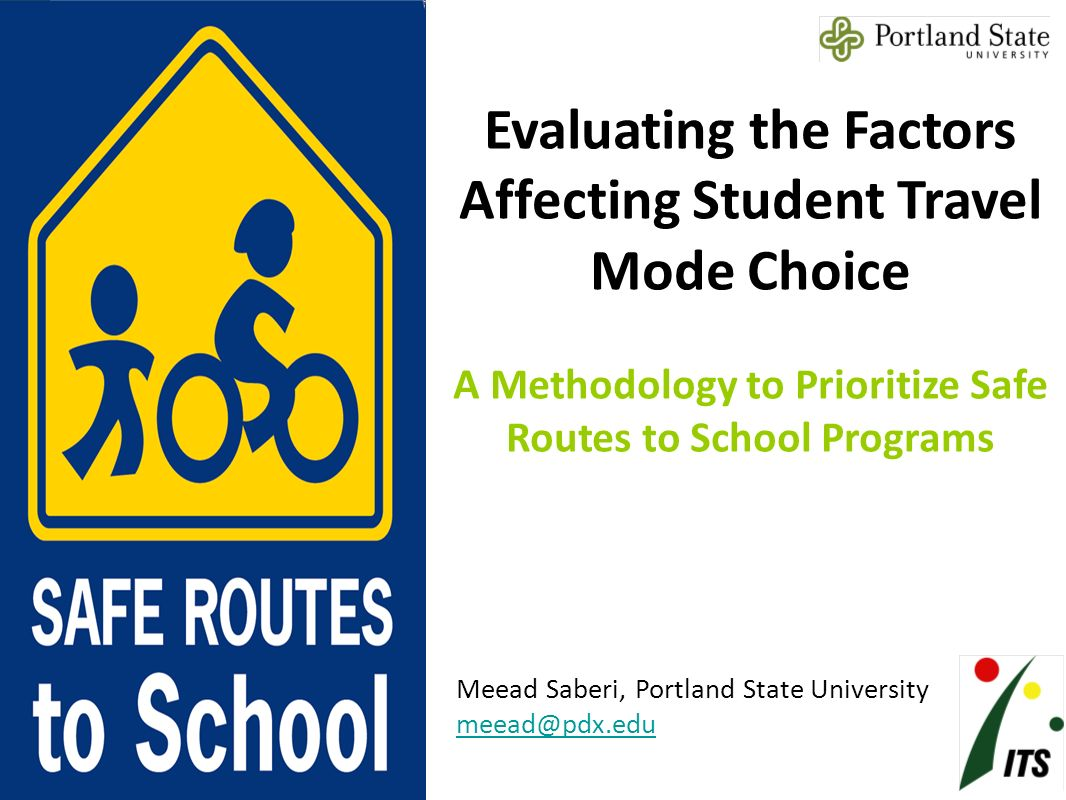 evaluating the factors affecting student travel mode choice a
