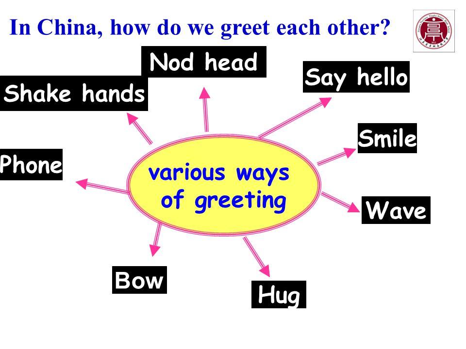 Module 6 unit 3 understanding each other various ways of greeting 2 various ways of greeting phone m4hsunfo