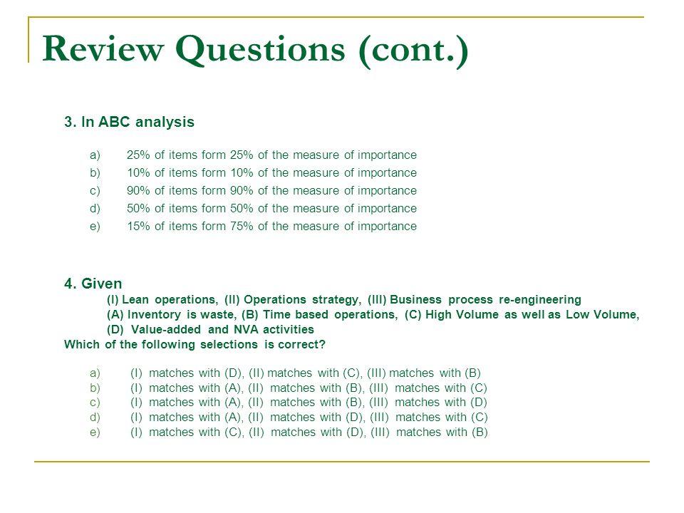 importance of abc analysis