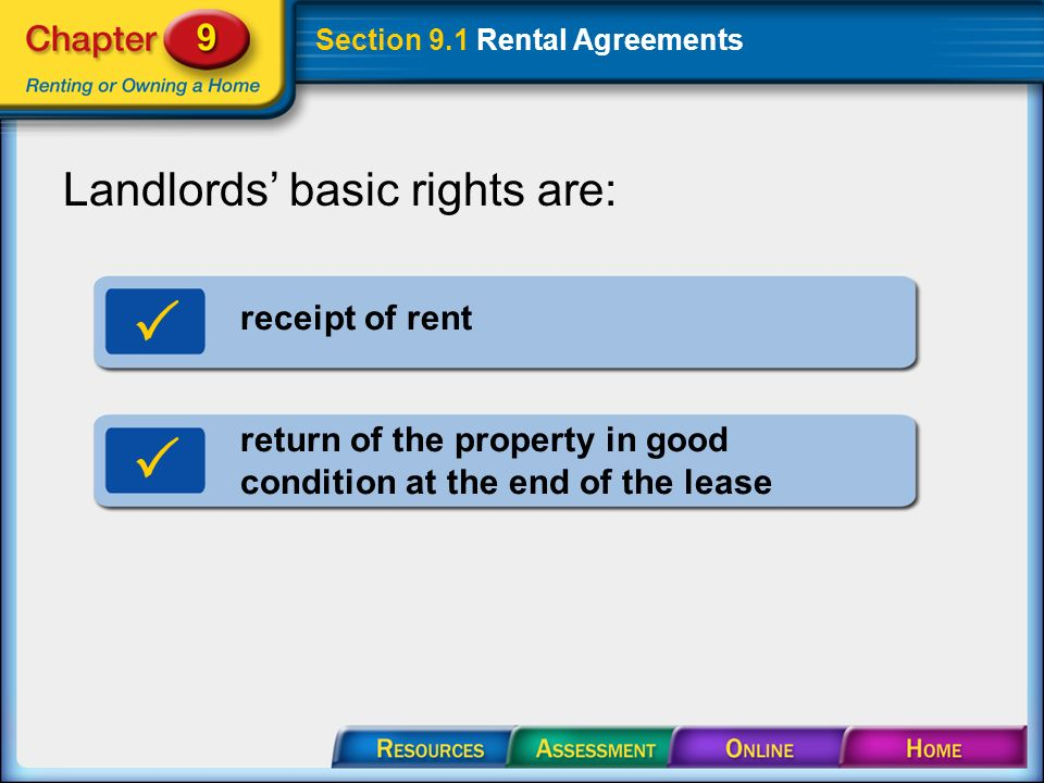 Section 91 Rental Agreements Section 91 Rental Agreements A