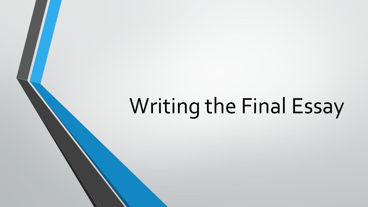 writing the final essay writing issues italicize titles of movies   writing the final essay