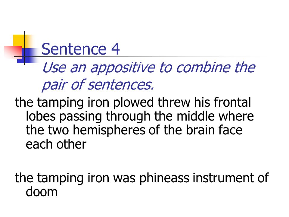 Phineas Gage Daily Oral Language Week 4  Sentence 1 Use an
