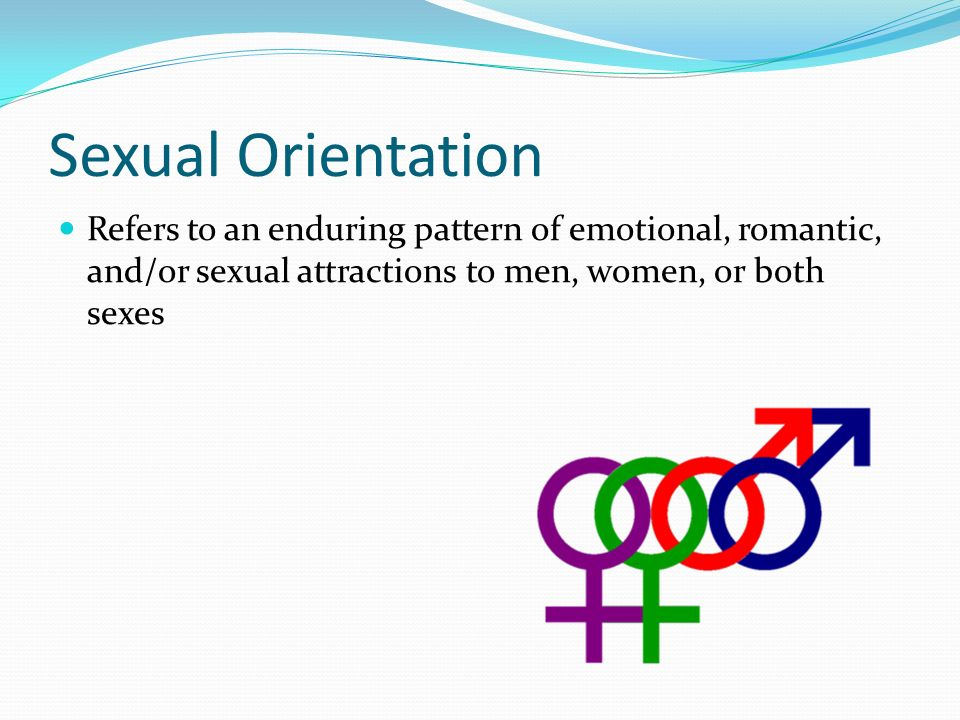 Sexual orientation colors and emotions