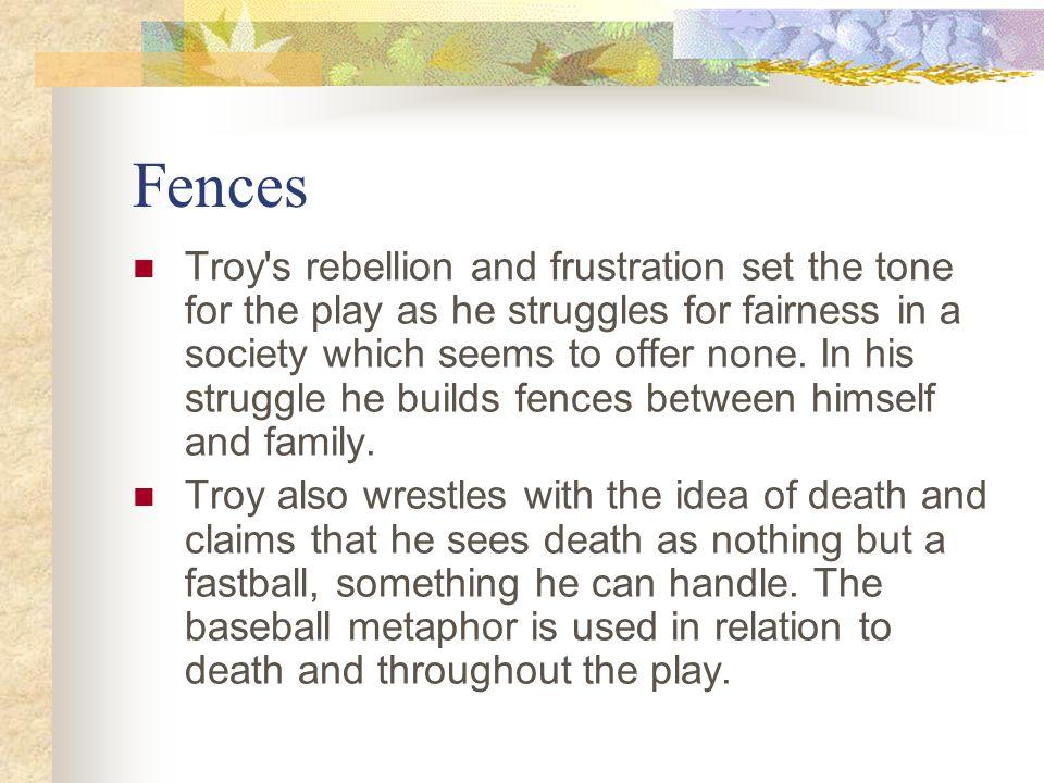 metaphors in fences
