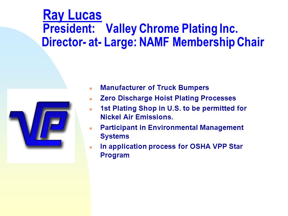 Valley Chrome Plating's Journey To Environmental Compliance through