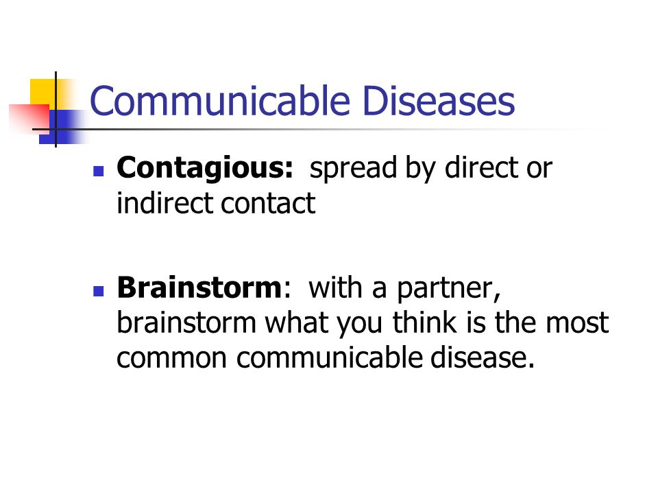 Communicable disease worksheet middle school
