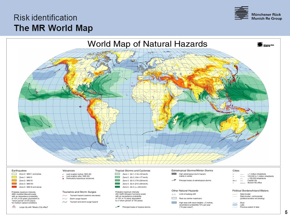 Role of the reinsurance industry in the management of catastrophe 5 5 risk identification the mr world map gumiabroncs Image collections