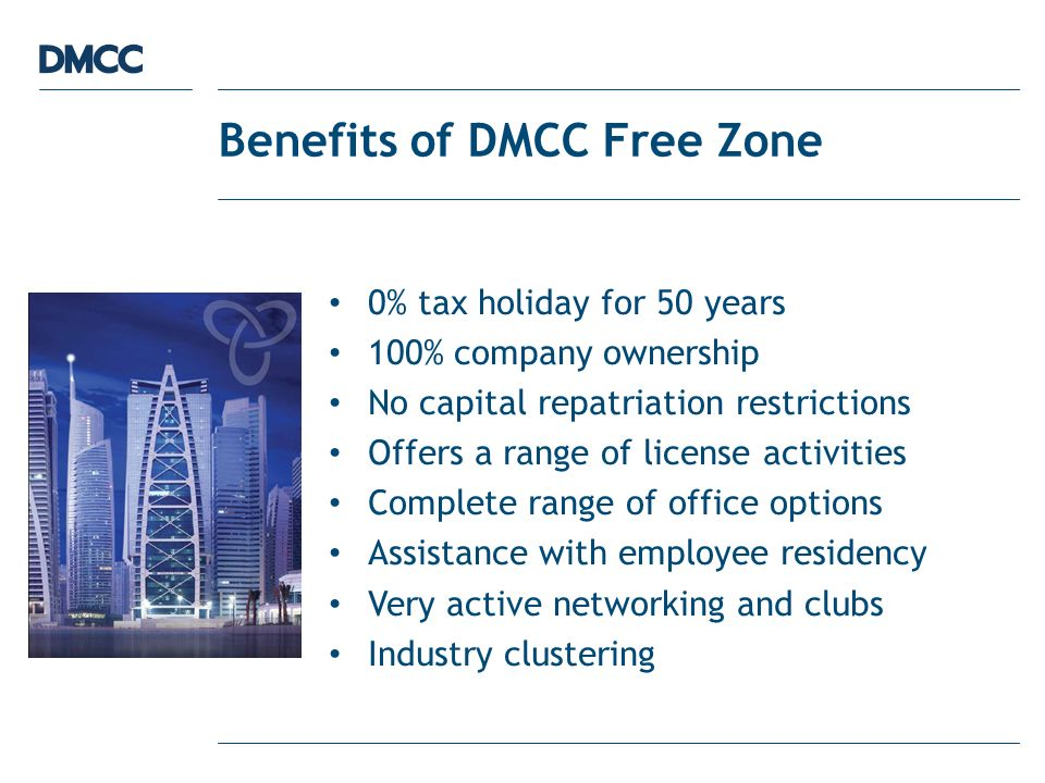 D Introduction to DMCC and Commodities trade facilitation services