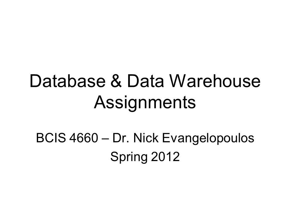bcis 4660 homework 6