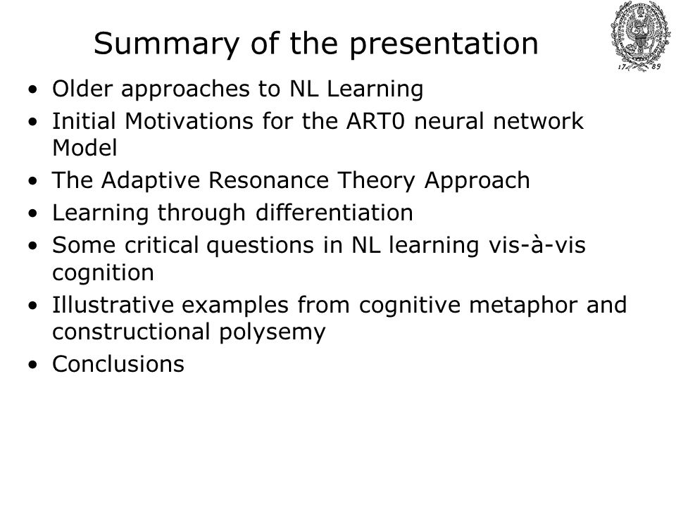 A Neural Net Model For Natural Language Learning Examples From