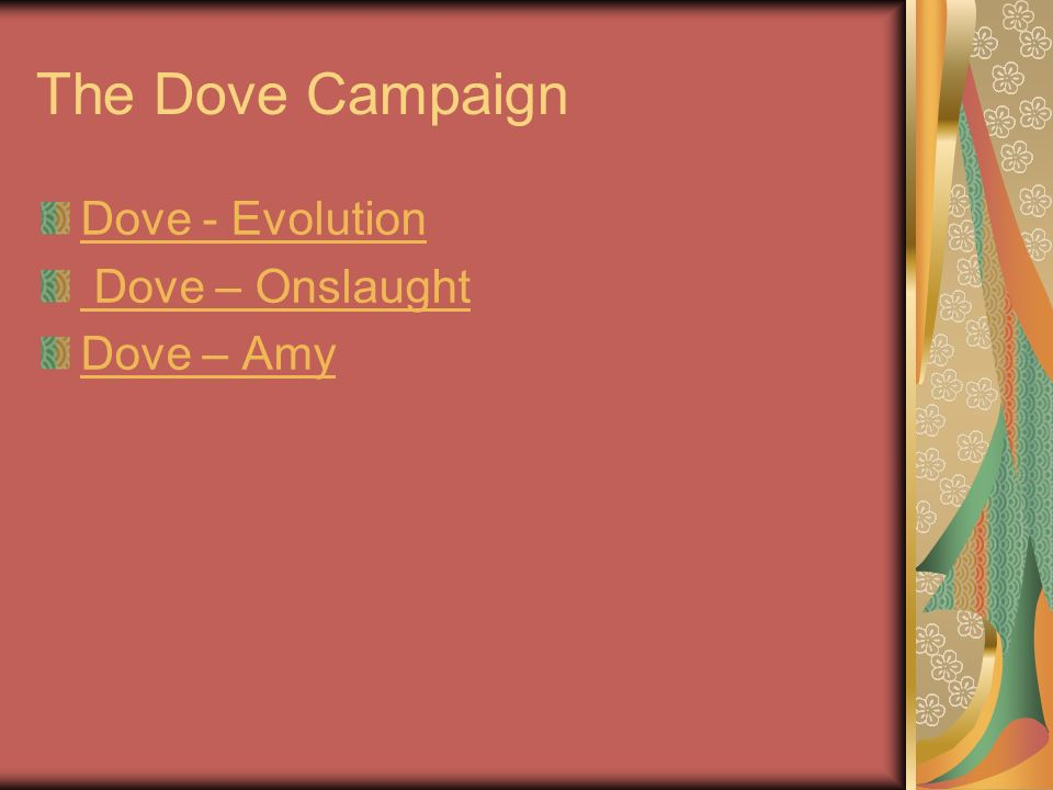dove evolution campaign