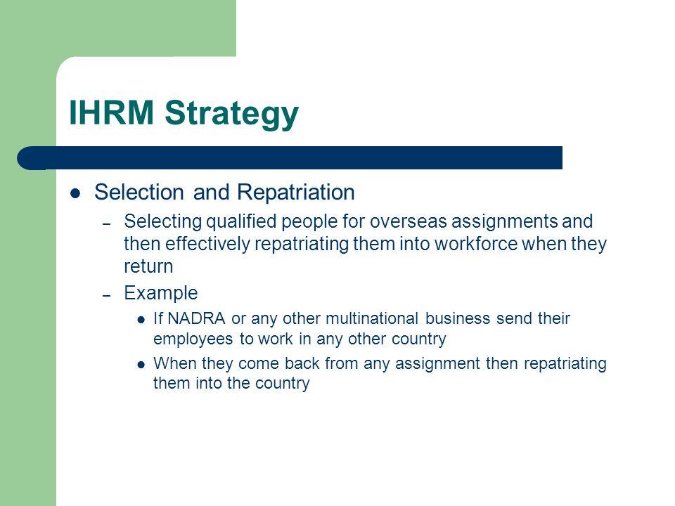international human resource management notes mba pdf