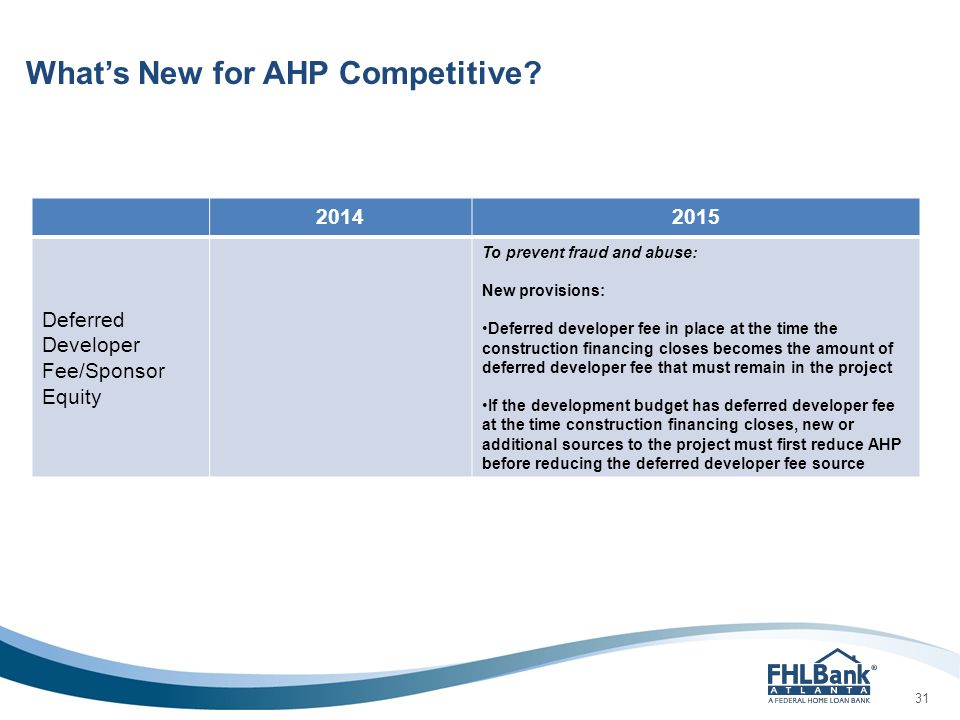HAND AHP Competitive Presentation January 22, ppt download