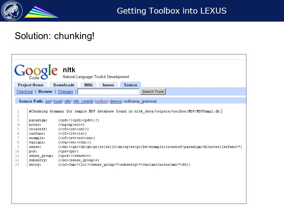 Getting the Iwaidja lexicon in LEXUS and ViCoS Jacquelijn