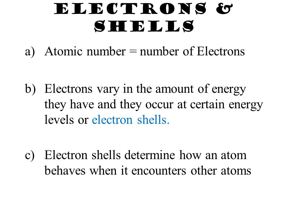 The Atom – the smallest unit of matter indivisible Helium atom