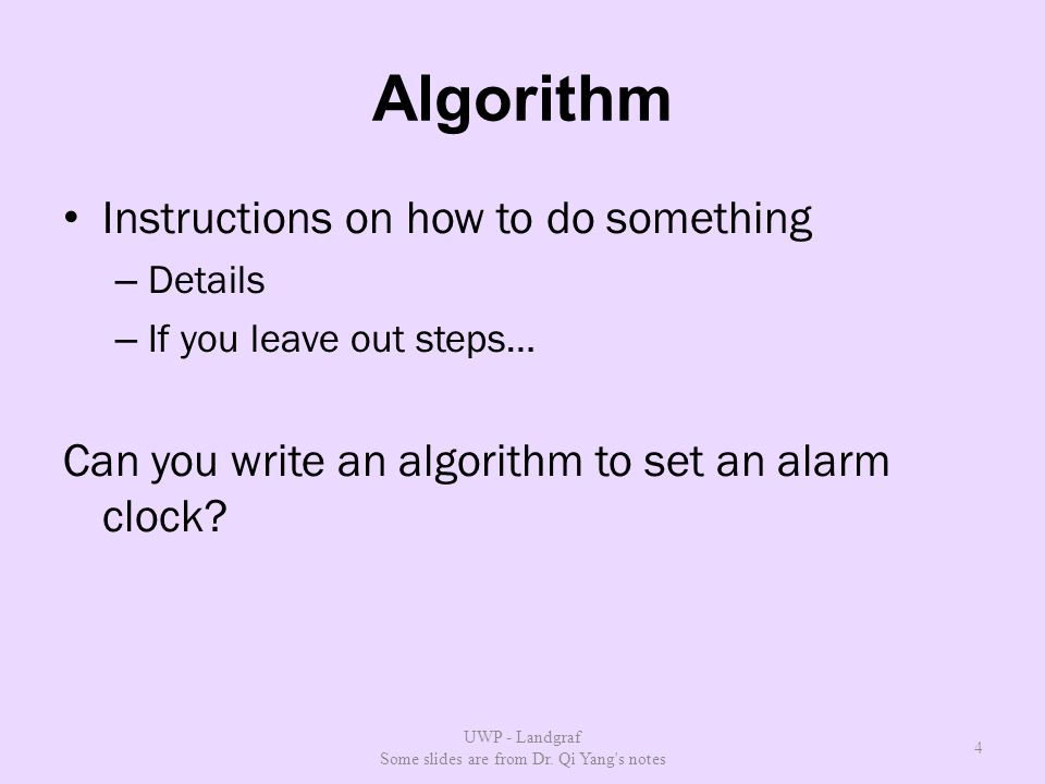 What Is Programming Steps To Solve A Problem Repeatable By