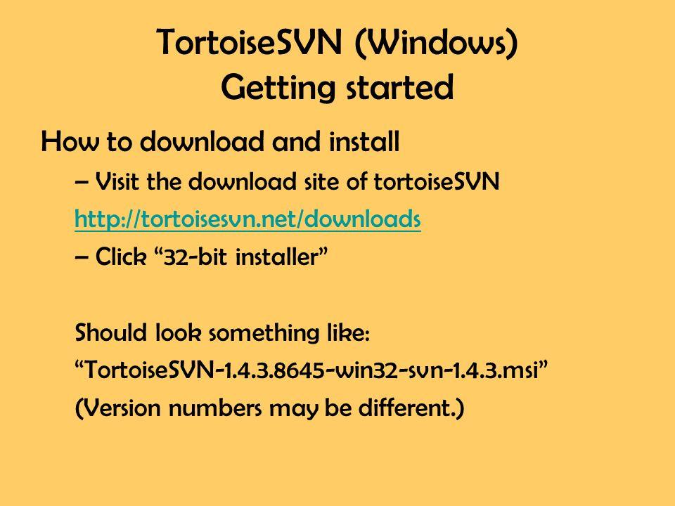Tortoisemerge · tortoisesvn.