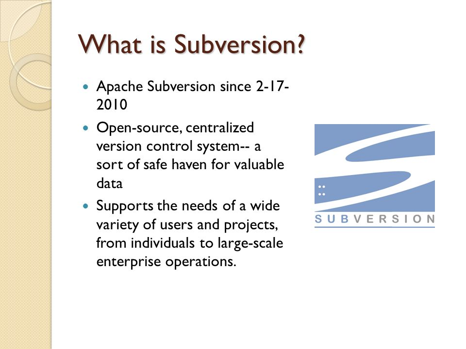 SVN / Apache Subversion Raymond Calderon 4/15/ ppt download
